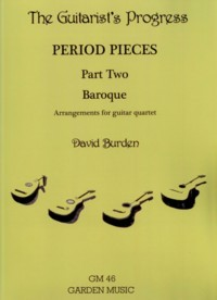 The Guitarist's Progress (Period Pieces Part Two: Baroque) published by Garden Music
